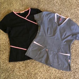 XS Scrub Lot - 2 Tops